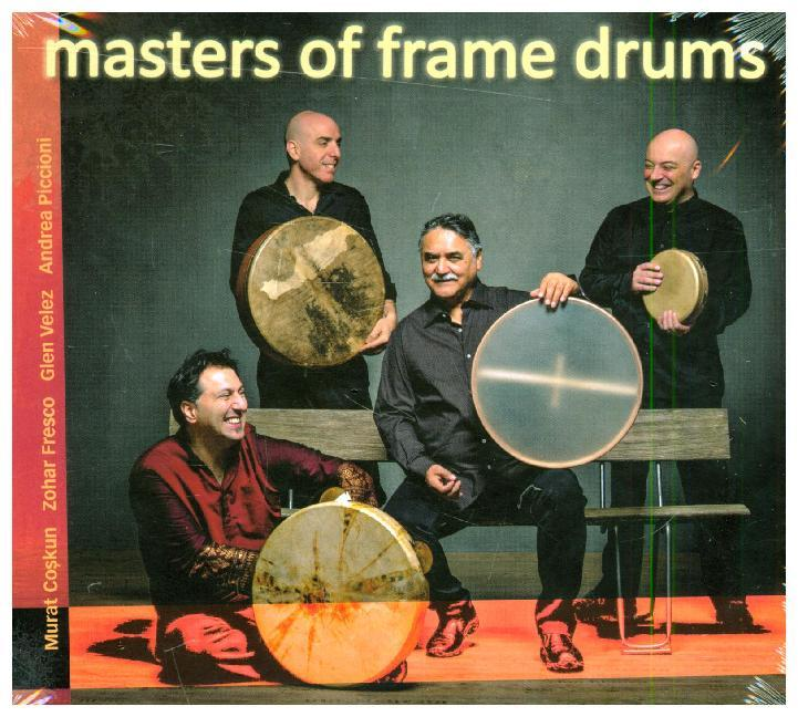 Bild von Masters of Frame Drums, 1 Audio-CD