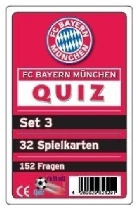 FC Bayern München Quiz (Kartenspiel), Set 3