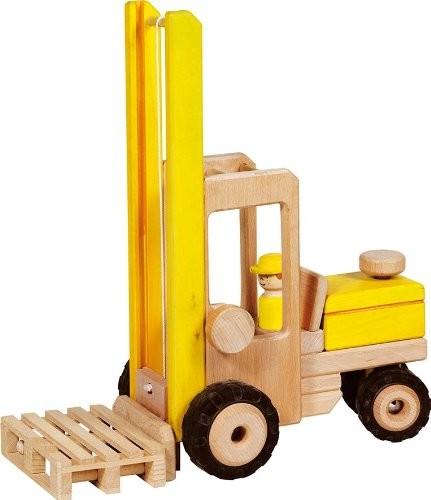 Bild von Goki 55938 - Gabelstapler Spielzeug