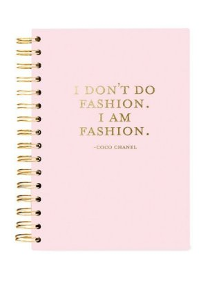 Bild von Hard Bound Journal: I am Fashion - Hardcover-Notizbuch mit stabiler Ringbindung: Ich bin Fashion